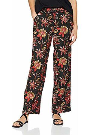 Scotch&Soda Maison Women's Tailored Wide Leg Pants Trouser (Combo H 0587) W24 (Size: X-Small)