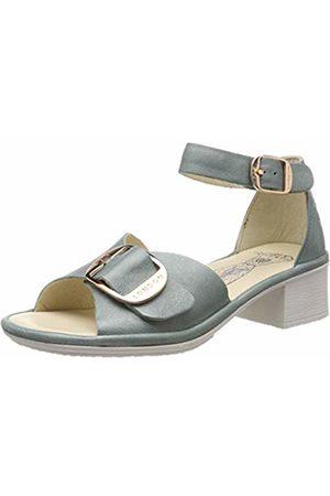 Fly London Women's EKEN018FLY Ankle Strap Sandals, (Jade 003)