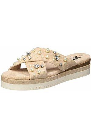 Xti Women's 49008 Open Toe Sandals Nude 4.5 UK
