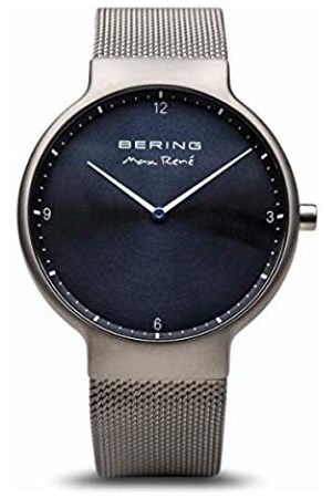 Bering Mens Analogue Quartz Watch with Stainless Steel Strap 15540-077