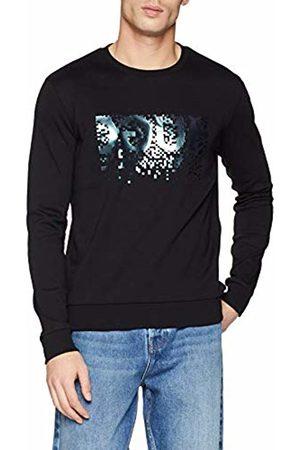 HUGO BOSS Men's Dicago-u4 Sweatshirt, ( 001)