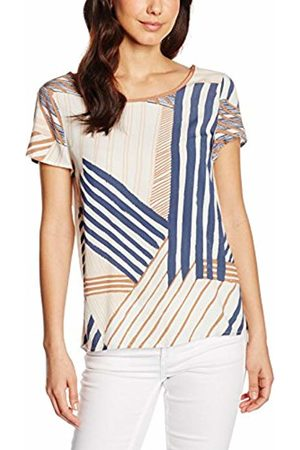 Saint Tropez Women's N1367 Blouse, Multicoloured-Mehrfarbig (Ice 1053)