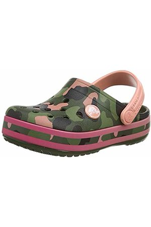 Crocs Unisex Kids' Crocband MultiGraphic Clog Kids Clogs