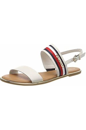 Tommy Hilfiger Women's Flat Sandal Corporate Ribbon Flip Flops