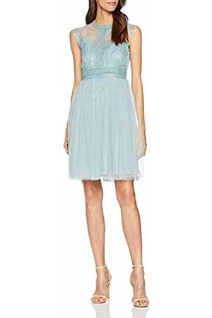 Little Mistress Women's Monet Lace Trim Prom Dress Party Haze 001