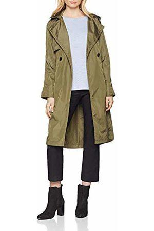 Taifun Women's 350036-11553 Coat, (Jungle 50862)