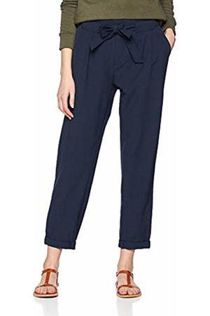 Esprit Women's 029EE1B057 Trousers (Navy 400) W44/L30