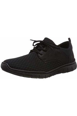 Rieker Men's B8771-00 Low-Top Sneakers, Schwarz 00