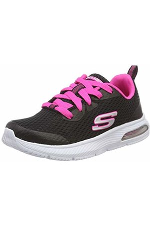 Skechers Girls' DYNA-AIR-Jump Brights Trainers, ( Hot BKHP)