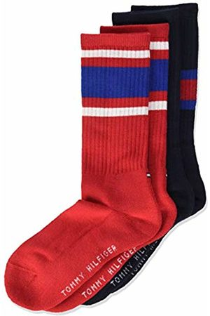 Tommy Hilfiger Boy's Th Kids Flag 2p Calf Socks