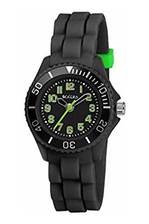 Tikkers Children's Quartz Watch with Dial Analogue Display and Rubber Strap TK0064