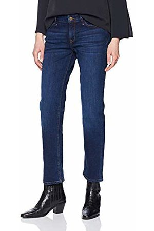 Cross Jeans Women's Rose Straight Jeans, (Dark 057)