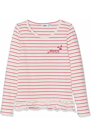 Mexx Girls T-Shirt, Mehrfarbig (Chalk Fandango /Marshmallow 318150)