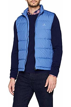 GANT Men's O1. The Panel Down Vest Outdoor Gilet, (Poseidon 448)