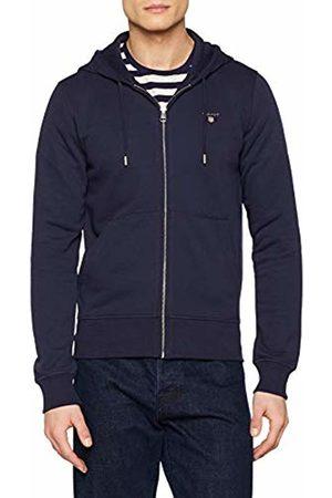 GANT Men's The The Original Full Zip Hoodie Sweat Jacket, (Evening 433)