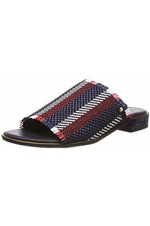Tommy Hilfiger Women's Tommy Raffia Mule Sandal Flip Flops
