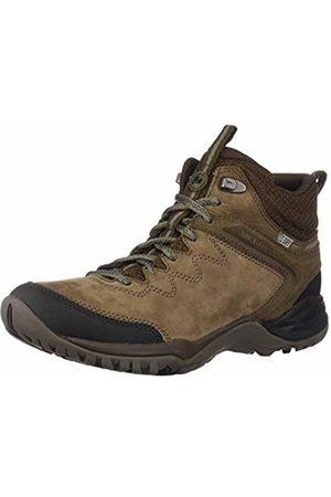Merrell Women's Siren Traveller Q2 Mid Waterproof High Rise Hiking Boots, Slt/Blk