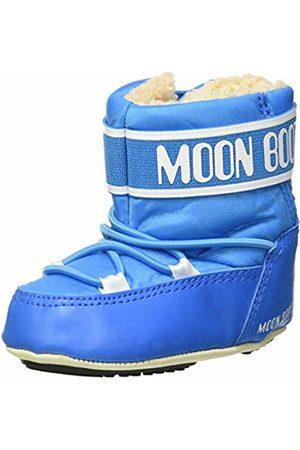 Moon-boot Unisex Babies Crib 2 Boots Turchese (Blu Chiaro 001) 4.5/5 UK Child 4