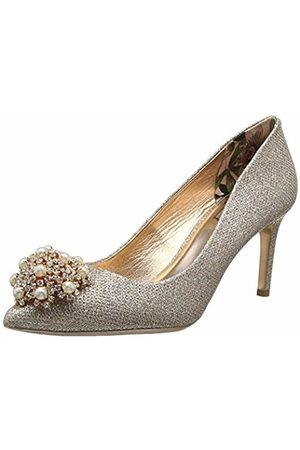 Ted Baker Women's Dahrlin Closed Toe Heels, Rose Gld