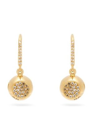 Aurélie Bidermann 18kt & Diamond Earrings - Womens