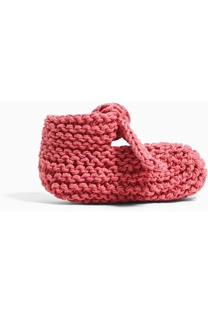 Zara Knitted cotton shoes with bow