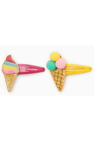Zara Pack of two ice cream hair clips