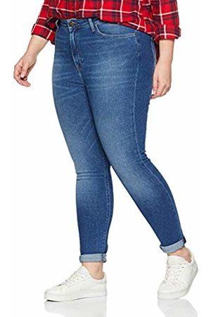 Lee Women's Scarlett High Plus Size Skinny Jeans, ( Drop Em)