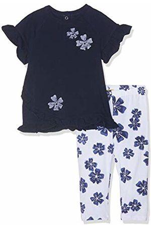 chicco Baby Girls' Completo t-Shirt Manica Corta + Leggings