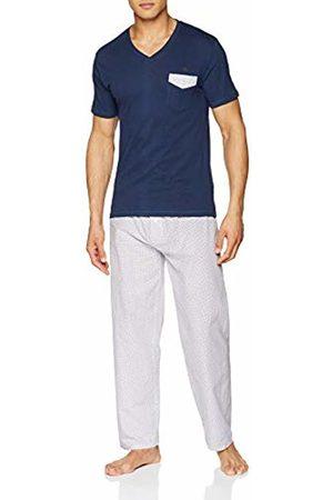 ALAN BROWN Men's Ah.True.py Pyjama Set, Marine