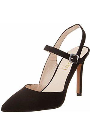 Lodi Women's Verilo Sling Back Heels, Ante Negro