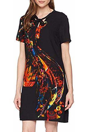 Desigual Women's Vest_Katherine Dress, Negro