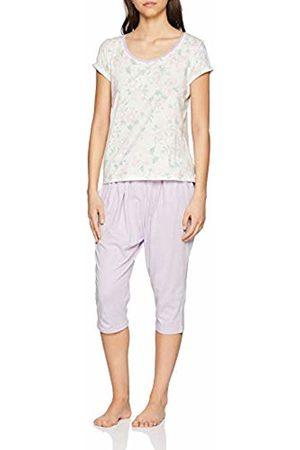 Lovable Women's Watercolor Flowers Pyjama Set