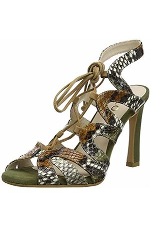 Lodi Women's Zodiac-sr Open Toe Sandals, Viperina Army
