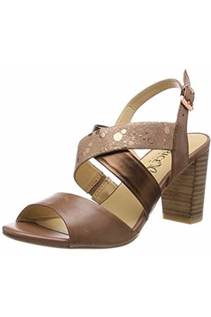Caprice Women's Andrea Ankle Strap Sandals, ( Comb 387)
