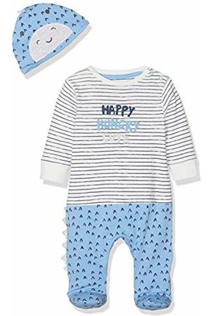 Mothercare Baby Boys' Dinosaur All in One and Hat Set Clothing ( 129)