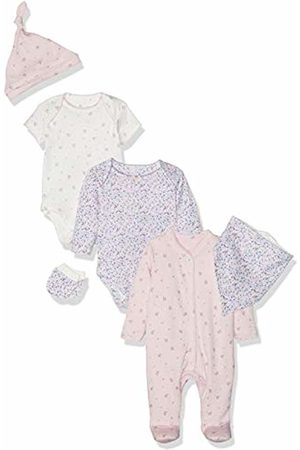 Mothercare Baby Girls' Floral Six-Piece Set Bodysuit