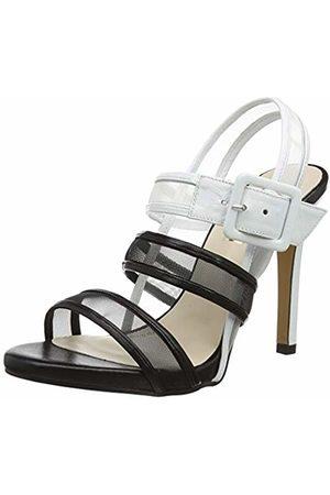 Lodi Women's Yusomi-MUL Ankle Strap Sandals, Net Negro