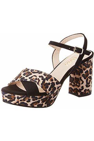 Lodi Women's Hita-x Platform Sandals, Ante Negro