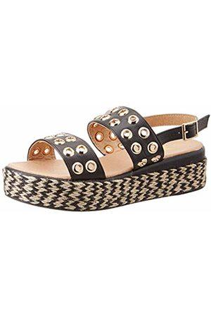 Xti Women's 49066 Platform Sandals, Negro