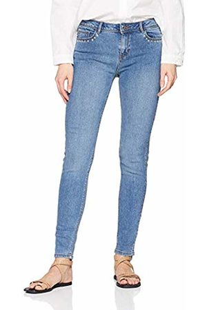 Springfield Women's 3.t.md.tachas Laterales Straight Jeans