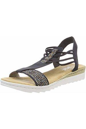 Rieker Women's 63062 Closed Toe Sandals