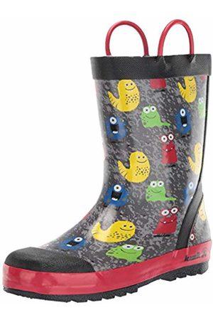 Kamik Unisex Kids' Monsters Wellington Boots, ( Blk)