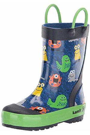 Kamik Boots - Unisex Kids' Monsters Wellington Boots, ( Blu)
