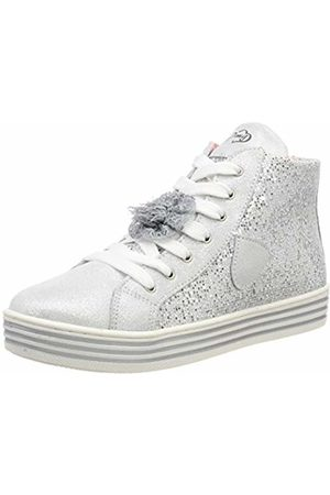 c6bac88bef77 Primigi Girls' Psa 34339 Hi-Top Trainers, Argento 3433900