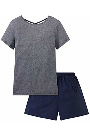 Schiesser Girl's Mädchen Anzug Kurz Pyjama Set 140 (Size: X-Small)
