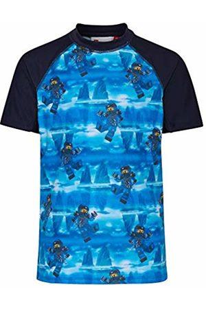 LEGO Wear Lego Boy Ninjago Tiger 301-Uv 50+ Badeshirt Kurzarm Swim Shorts, ( 551)