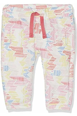 Noppies Baby Girls' G Pants Comfort Roxboro AOP Trousers Mehrfarbig (Flamingo P016) 9-12 Months
