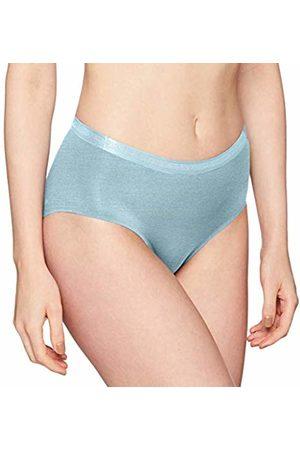 Sloggi Women's S Serenity Mid Waist Panty Boy Short, ( Lake 00hy)