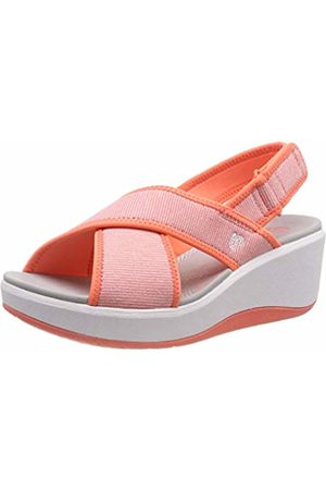 Clarks Women's Step Cali Cove Low-Top Sneakers, (Coral-)