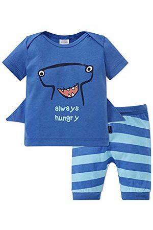 Schiesser Boys' Baby Anzug Kurz 2-teilig Pyjama Set